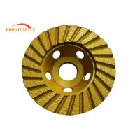 "China 4"" - 9"" Diamond Cup Wheels Grinding Concrete , Smooth Grinding Diamond Cut Off Wheels wholesale"