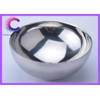 Quality Stainless Shaving bowl , Lathering Bowl for barber shop badger brushes for sale