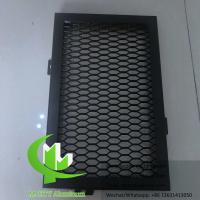 Quality Customized aluminum expanded panel screen mesh for facade cladding and ceiling for sale