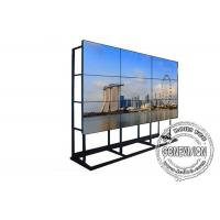 Quality Seamless LCD Video Wall Wifi Digital Signage 4*8 Floorstanding Cabinet 46 Inch Samsung for sale