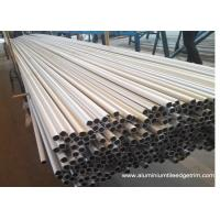 Buy cheap Weather Resistance Round Aluminum Extrusion Profiles 6061 6063 7075 Anodized Silver from wholesalers