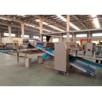 China 1500kg / Hr Capacity Puff Pastry Dough Machine Turnkey Solution With Proffer And Tunnel Oven wholesale