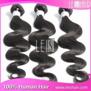 China 6A virgin human hair body wave virgin indian hair on sale