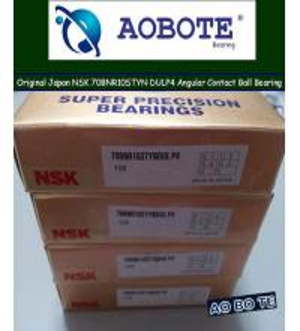 China Low Vibration NSK Ball Bearings 70BNR10STYNDULP4 Angular Contact wholesale