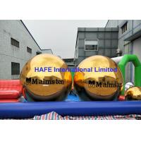 China Single Color Printing Inflatable Mirror Balloon 2.5m Sphere Tube With Branding Logo wholesale