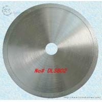China Diamond Coated Continuous Rim Lapidary Saw Blade for Agate Jade Crystal and Glass - DLSB02 wholesale