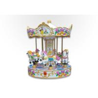 China Recreation Park Carousel Kids Riding Carousel 40kg Seat Load Remote Contorl wholesale