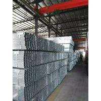 China MS Q345 Square Section Steel Tube With Galvanized / Zinc Coated , 40 * 40 Mm wholesale
