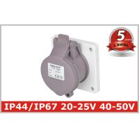 Indoor 32 Amp Industrial Power Socket / Single Phase Outlets IP44