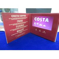 China Large Screen Printing Paper Video Talking Card With Speaker 1000 - 10000mAh Bettery wholesale