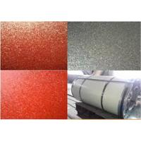 China Matt  Finish  Base On Hot Dip Galvalume PPGL Coil  PE  Paint For  no gloss Roofing wholesale