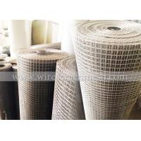 Buy cheap Durable Welded Wire Mesh Rolls , Welded Hardware Cloth High Temperature Resistance from wholesalers