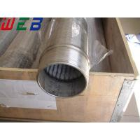China Stainless Steel OD 219mm Wedge Wire Screen (ISO9001 Factory) wholesale