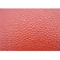 China Color coated 1060 / 1100 embossed aluminum sheet export to Africa and South America wholesale
