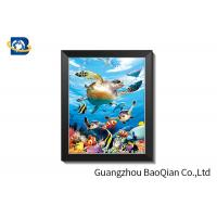 China 0.6mm PET + Pearl Film 3D Lenticular Pictures With PVC Frame wholesale