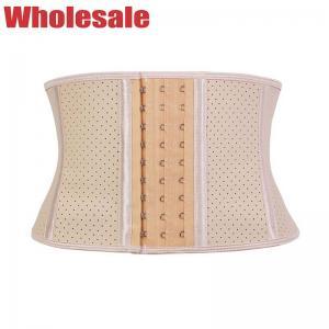 China 9 Bone Latex Underbust Corset Sport Girdle Waist Trainer Shapewear wholesale