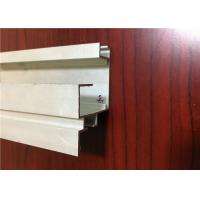 Anodized / Powder Coated Aluminium Channel Profiles Aluminum Structural Framing
