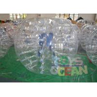 China Durable Inflatable Human Hamster Ball / Inflatable Body Bumper Ball For Kids wholesale