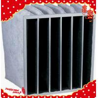 Buy cheap F5 F6 F7 F8 medium efficiency activated carbon industrial air filter bag from wholesalers
