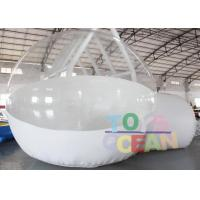 China DIA 4M Advertising Inflatables Transparent Inflatable Bubble House With Tunnel wholesale