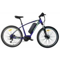 China 10.4AH Electric Assist Mountain Bike Foreged Stem Mechanical Disc Brakes wholesale
