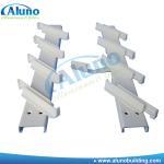 China Milk white aluminum louvre blade frame wholesale