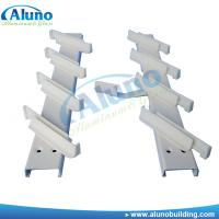 China Milk white aluminum louvre blade frame wholesale