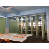 China Commercial Furniture Aluminium Profile Foldable Partition Wall Retractable And Flexible wholesale