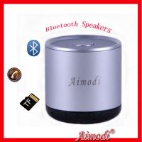 Portable Hifi Bluetooth Speaker With Metal Material Of