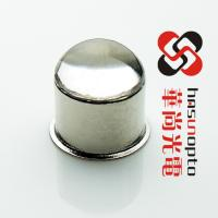 China TO46 D4.8xH3.5 D4.65mmxH6.9mm high-angle LED ball lens caps, class to metal sealing, High Refractive Index Ball Lens Cap wholesale