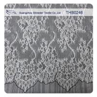 Buy cheap Nylon Fashion Bridal Chantilly White Lace For Wedding Dresses from wholesalers