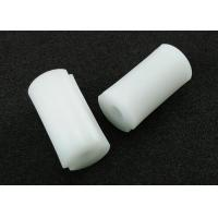 China PA66 White Plastic Round Spacers with Inside Threads M5 X 15 mm on sale