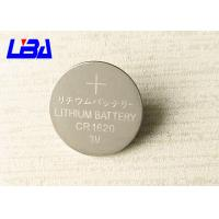 China Original Button Cell Battery CR 2016 , Coin Lithium-Manganese Dioxide Battery 90mAh wholesale