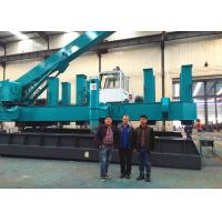 China Roadside Hydraulic Static Pile Driver , Pile Pressing Machines Energy Saving wholesale