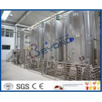 PLC UHT Milk Processing Line For High Temperature Pasteurized Soy Milk / Organic Milk / Milk Products