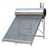 China Compact Non-pressurized System Thermosyphon Solar Water Heater With 5L Auxiliary Tank wholesale