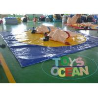 China Sumo Wrestling Inflatable Interactive Games wholesale
