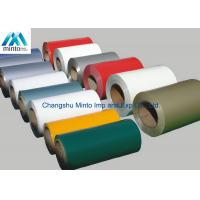 China Color Coated PPGI Prepainted Galvanized Steel Coil For Corrugated Roofing wholesale
