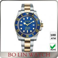Coin / Digital Type Stainless Steel Strap Watches , Nice Looking Sapphire Crystal Glass Watch