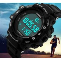 China 2017 New Wholesale Pedometer 3D Big Dial Chronograph Waterproof 50m Multifunction Sport Watches 1128 wholesale