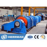 Buy cheap Horizontal Tubular Cable Stranding Machine Independent Drive Method 1200rpm Speed from wholesalers