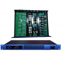 Blue Panel 1U Digital Power Amplifier 650W For Performance / Karaoke