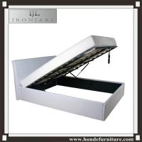 Wholesale Cheap Price Faux Leather PU Gas Lift Storage Bed from china suppliers