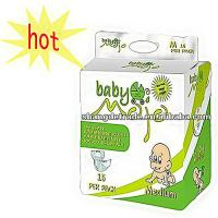 Buy cheap PE Tape Cloth Diaposable Baby Diaper from wholesalers