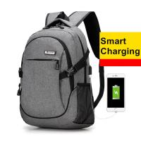 China Travel Extra Large Business Laptop Backpack With Built In Charger / Waterproof Fabric  wholesale