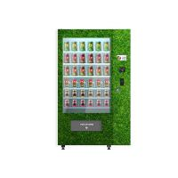 Buy cheap Egg Vegetables Salad Belt Conveyor Combo Elevator Vending Machine Remote Controlled from wholesalers