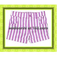 TR Baby Toddler Girl Woven Shorts+Chinese shorts supplier+Chinese shorts manufacture