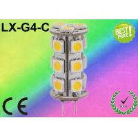 China 1.2W - 2.5W G4 LED Bulb 5050 SMD Dimmable LED Bulbs With CE RoHS TUV on sale