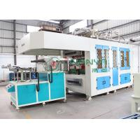China Efficiency Automatic Paper Tableware / Cutlery Virgin Pulp Molding Machinery wholesale