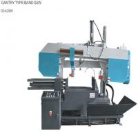 China Worm Reducer Horizontal Mitering Bandsaw , Powerful Automatic Metal Saw wholesale